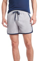 2Xist 2 X Ist Performance Jogger Shorts Earl Grey Varsity Navy