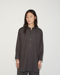 Moderne New Drafting Shirt Tobacco Black Stripe
