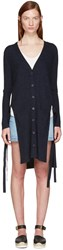 See By Chloe Indigo Wool Cardigan