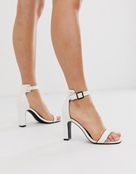 Call It Spring By Aldo Alexiss Heeled Sandals In White