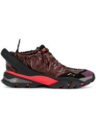 Calvin Klein 205W39nyc Ruched Sporty Sneakers Red