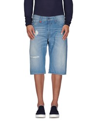 Replay Denim Denim Bermudas Men Blue