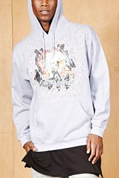 Forever 21 Bleach. Eagle Graphic Hoodie