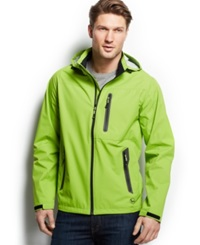 Hawke And Co. Outfitter Waterproof Hipster Hooded Jacket Parrot Green