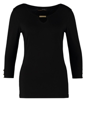 La City Long Sleeved Top Noir Black