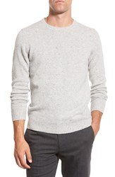 Men's Bonobos Merino Wool Crewneck Sweater Grey