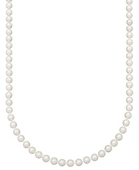 Belle De Mer Pearl Necklace 20' 14K Gold Aaa Akoya Cultured Pearl Strand 8 8 1 2Mm