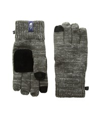 The North Face Salty Dog Etiptm Glove Graphite Grey Mid Grey Marl Extreme Cold Weather Gloves Gray