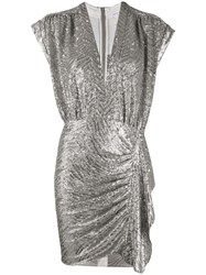 Iro Sequin Draped Fitted Dress 60