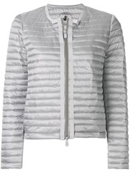 Save The Duck Padded Zipped Jacket Grey