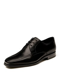 Magnanni Antonio Leather Lace Up Oxfords Black