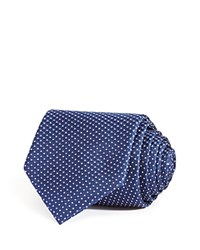 Bloomingdale's The Men's Store At Small Alternating Dots Classic Tie Navy