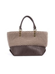 Lavand Structured Tote Bag Brown