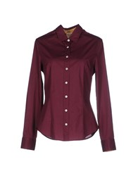 Alviero Martini 1A Classe Shirts Shirts Women Deep Purple