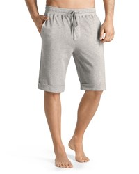 Hanro Torino Lounge Shorts Light Gray Light Grey