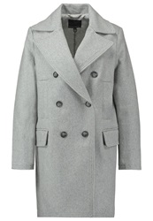Banana Republic Classic Coat Med Grey Heather