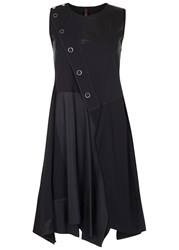 High Rukus Black Panelled Dress