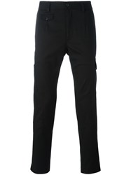 Dolce And Gabbana Cargo Trousers Black