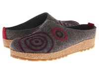 Haflinger Swing Grey Women's Clog Shoes Gray