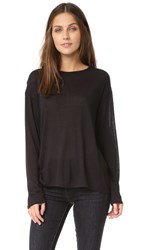 Vince Long Sleeve Shirt Black