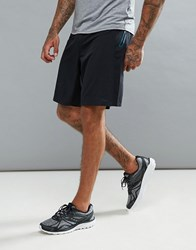 Saucony Running Runlife Stretch Woven Shorts In Black Black