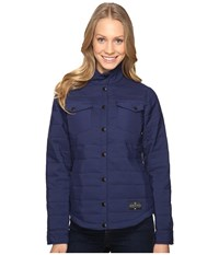 United By Blue Bison Snap Jacket Navy Women's Coat