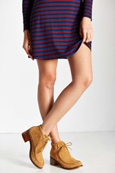 Urban Outfitters Tessa Heeled Bootie Tan