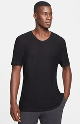 Alexander Wang Men's T By Slub Scoop Neck T Shirt
