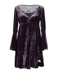 Odd Molly Short Dresses Deep Purple