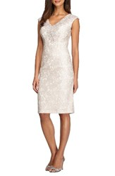 Alex Evenings Women's Lace Sheath Dress