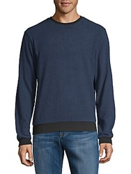 Hyden Yoo Rib Trimmed Long Sleeve Tee Anthracite