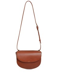 A.P.C. Sac Geneve Smooth Leather Bag Noisette