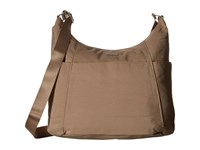 Baggallini Hobo Tote Beach Cross Body Handbags Bone