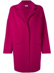 P.A.R.O.S.H. 'Lovely' Coat Pink Purple