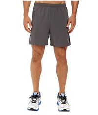 Asics 2 N 1 Woven 6 Shorts Iron Gate Men's Shorts Gray
