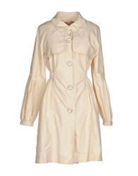 Fornarina Coats And Jackets Full Length Jackets Women Beige