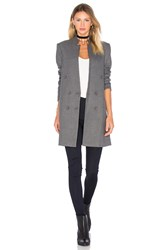 James Jeans Patch Pocket Straight Blazer Gray
