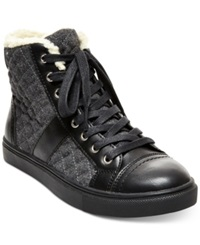 Madden Girl Madden Girl Everest High Top Sneakers Women's Shoes Black
