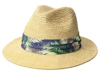Tommy Bahama Braid Raffia Safari Natural Caps Beige