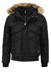 Kaporal Jaid Winter Jacket Asphalt Dark Grey