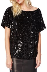 Women's Michael Stars Dolman Sleeve Sequin Top