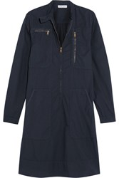Tomas Maier Riviera Cotton Dress Navy