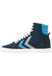 Hummel Sl. Stadil Duo High Hightop Trainers Total Eclipse Dark Blue