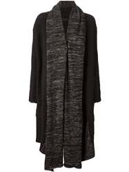Daniel Andresen Open Front Cardi Coat Black
