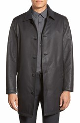 Men's Vince Camuto Cotton And Wool Reversible Car Coat