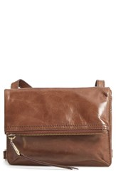 Hobo Glade Leather Crossbody Bag Brown Cafe