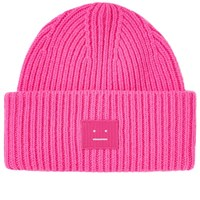 Acne Studios Pansy N Face Beanie Pink