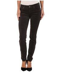 Kut From The Kloth Diana Cord Skinny Jean Annecy Charcoal Women's Jeans Black