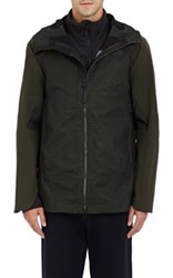 The North Face Men's 3 In 1 Triclimate Tech Fabric And Ripstop Jacket Green
