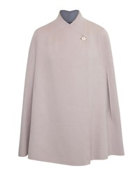 Ted Baker Ailida Reversible Wrap Over Cape Blush